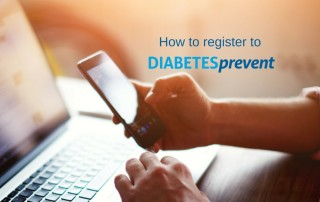 how to register app diabetes prevent