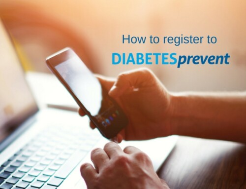 DIABETESprevent app- Sign up Tutorial