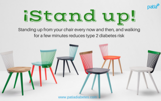 Standing up walking few minutes reduces type 2 diabetes risk
