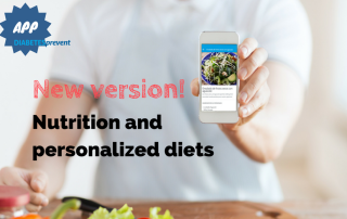 DIABETESprevent new version: Nutrition and personalized diets