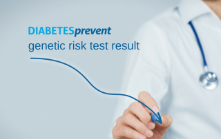 DIABETESprevent genetic risk test result