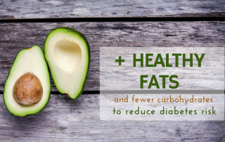 + healthy fats reduce risk diabetes