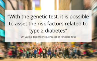 Jaakko Tuomilehto: the key role of genetics in prevention of type 2 diabetes