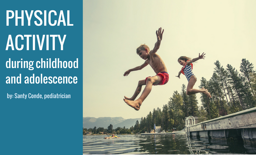 physical activity childhood and adolescence