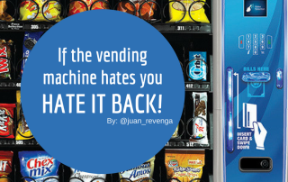 Vending machines no healthy