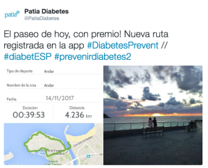 Día Mundial Diabetes Sorteo Patia
