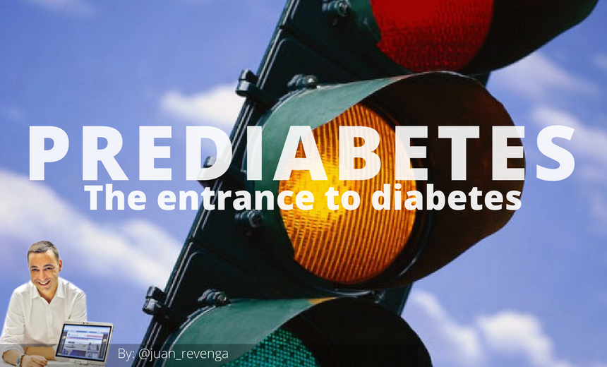 prediabetes entrance to type 2 diabetes