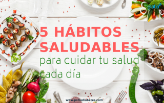 5 hábitos prevenir obesidad diabetes