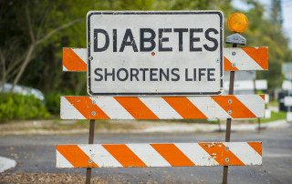 Diabetes shortens life