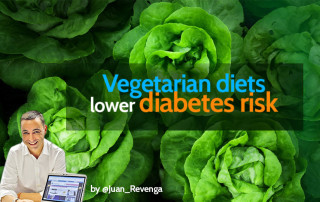 Vegetarian diet lowers diabetes risk