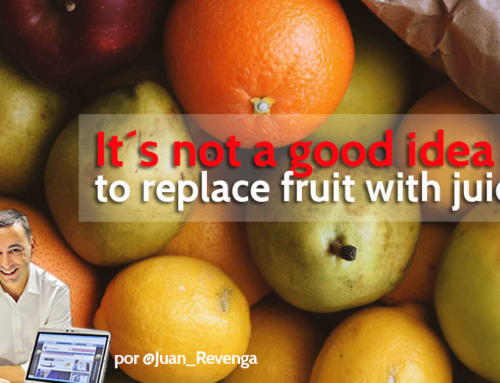 It´s not a good idea to replace fruit with juices