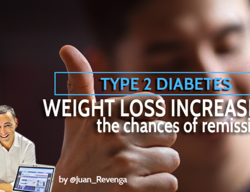 Losing weight after a diagnosis of type 2 diabetes increases the chances of remission.