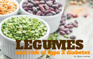 Legumes and diabetes prevention