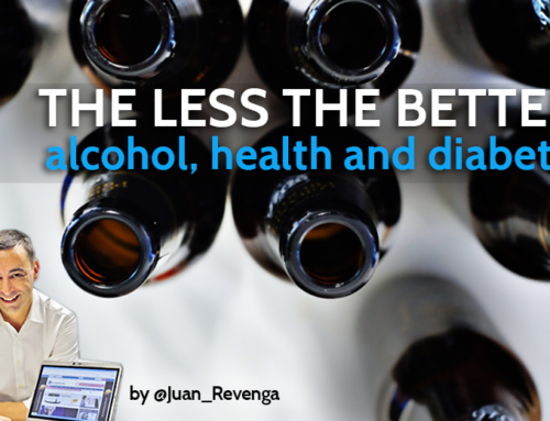 Alcohol can´t fit a healthy diet
